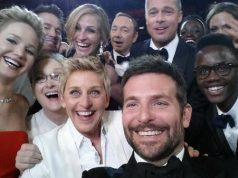 Ellen DeGeneres' berømte Oscar-selfie.